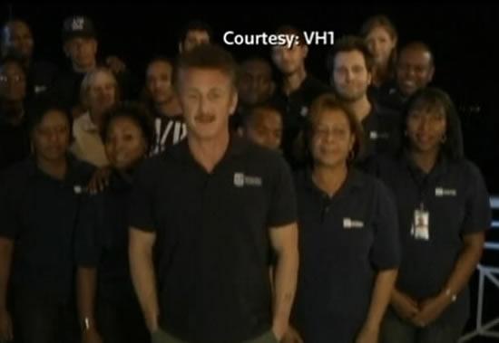 Sean Penn, Haiti earthquake, Critics' Choice Awards