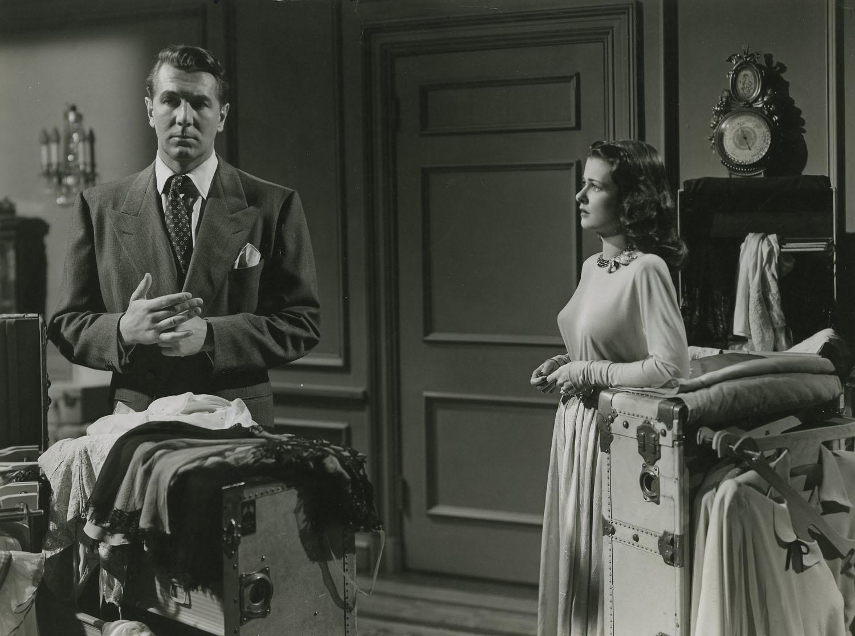 Michael Redgrave, Joan Bennett in The Secret Beyond the Door