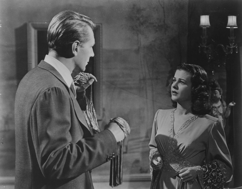 Hypnosis and crime: Michael Redgrave Joan Bennett Secret Beyond the Door