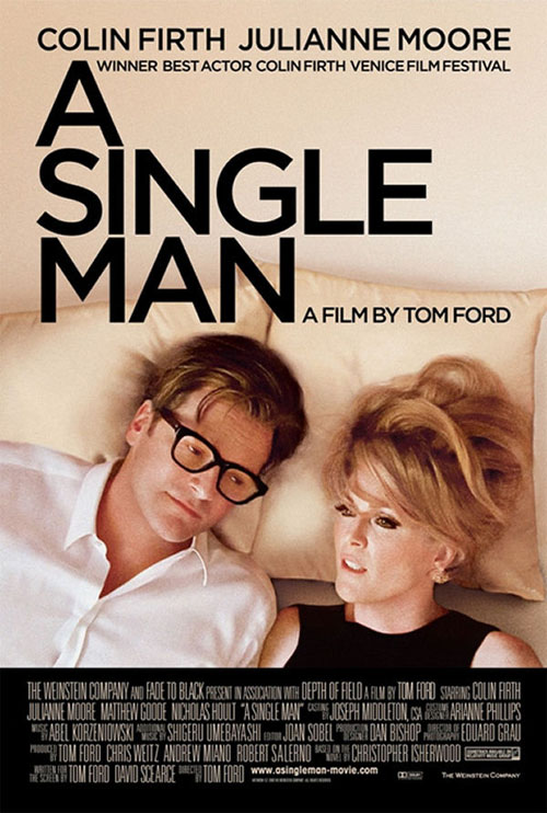 A Single Man Colin Firth Julianne Moore: Gay drama non-gay posters
