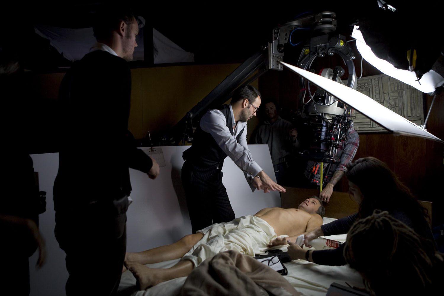 Tom Ford directs Colin Firth in A Single Man