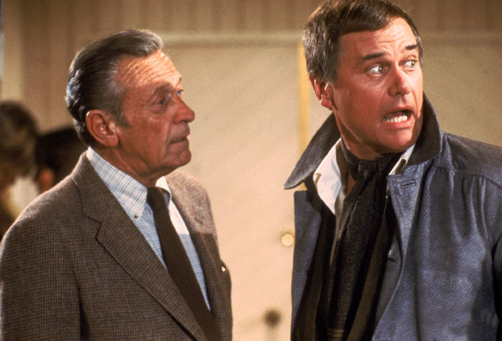William Holden, Larry Hagman in S.O.B.