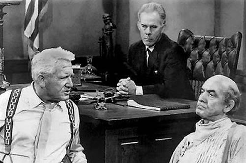 Fredric March Inherit the Wind Spencer Tracy