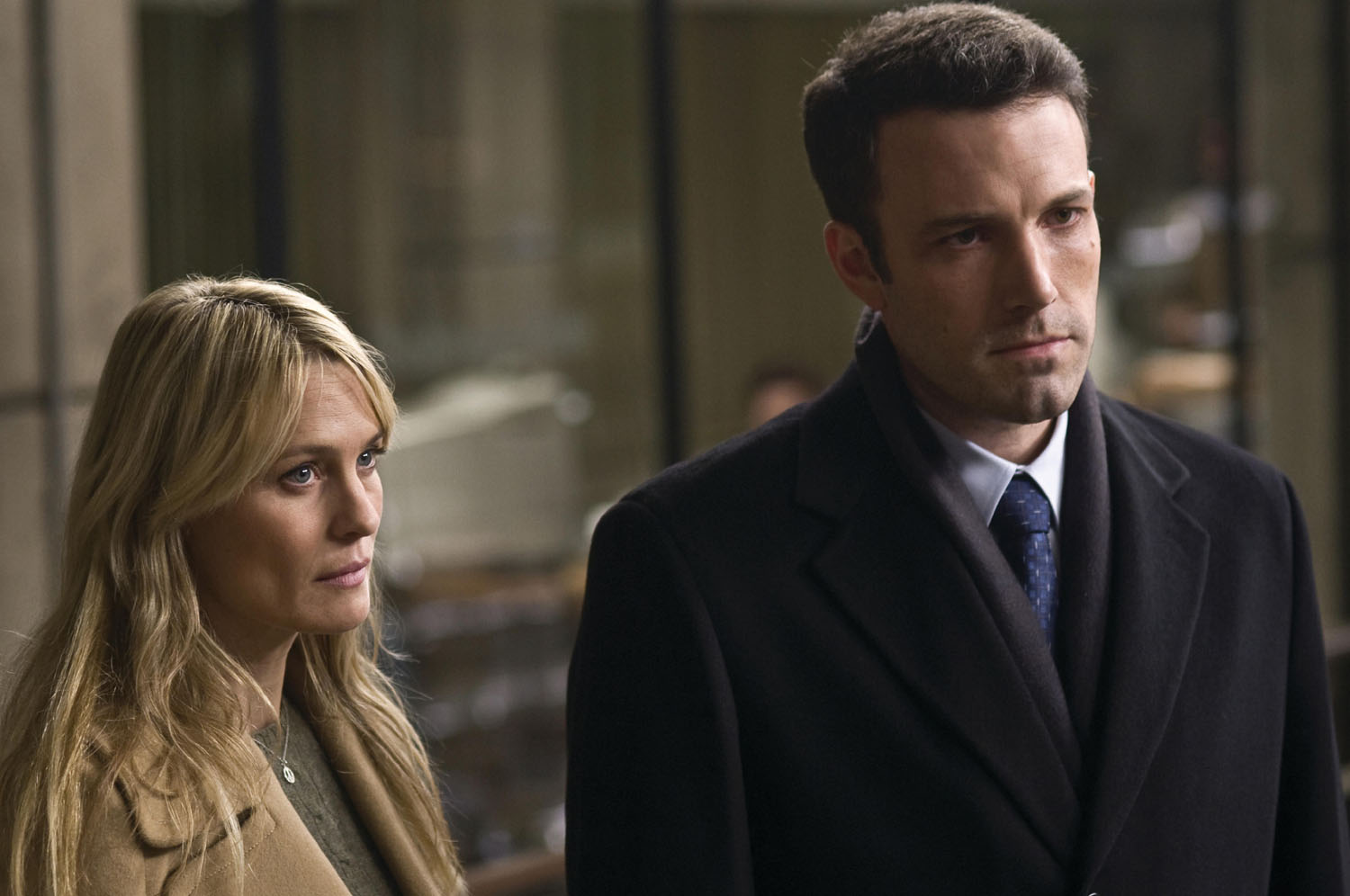 Robin Wright Penn, Ben Affleck in State of Play