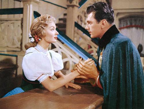Ann Blyth, Edmund Purdom in The Student Prince
