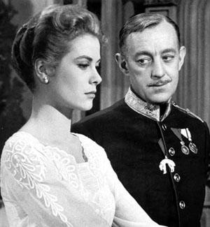 Grace Kelly, Alec Guinness in The Swan
