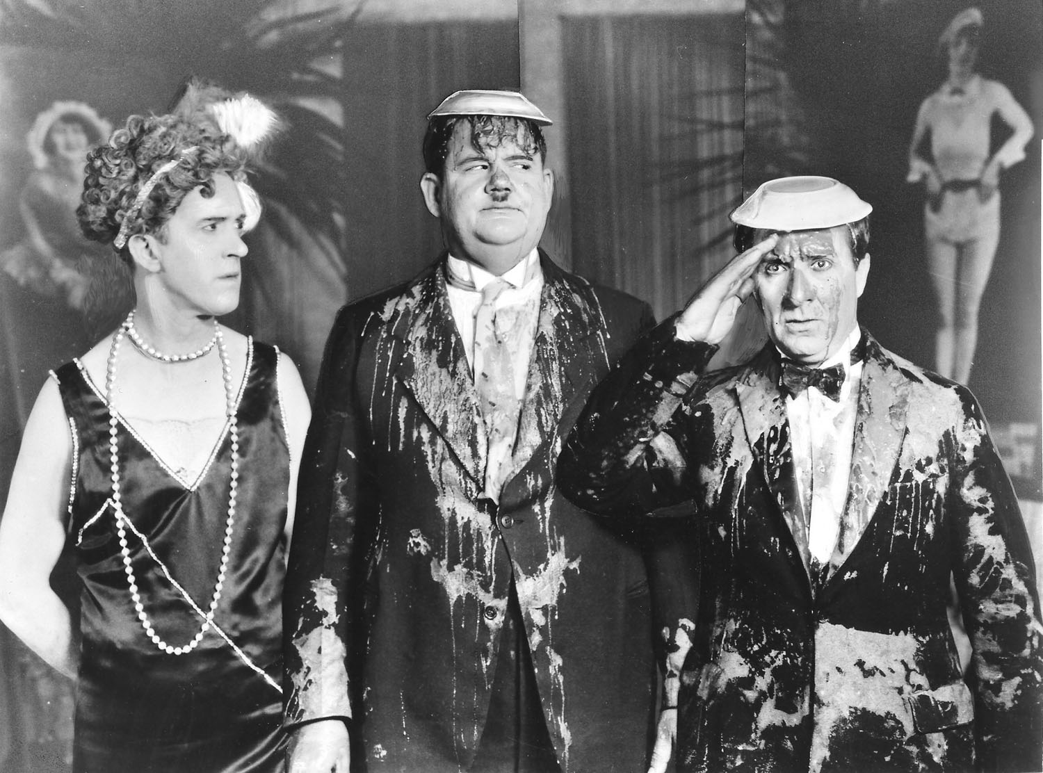 Stan Laurel, Oliver Hardy in That's My Wife
