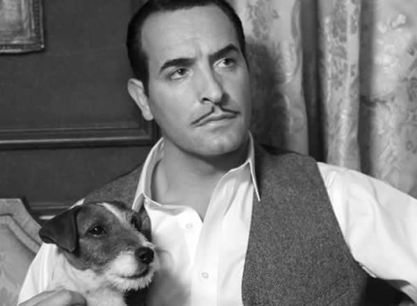 The Artist Jean Dujardin Uggie the Dog