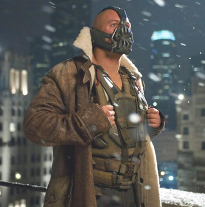 The Dark Knight Rises box office Bane Tom Hardy