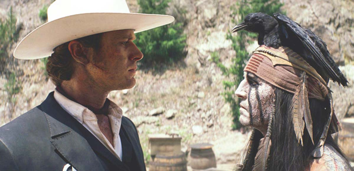 The Lone Ranger 2013 movie Johnny Depp Armie Hammer