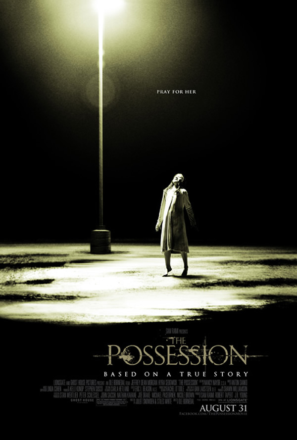 The Possession poster girl possessed by demon