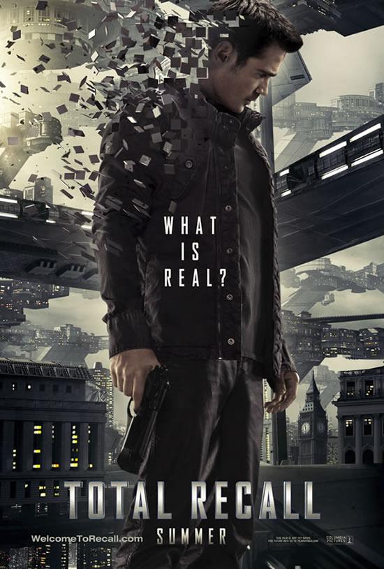 Total Recall poster Colin Farrell
