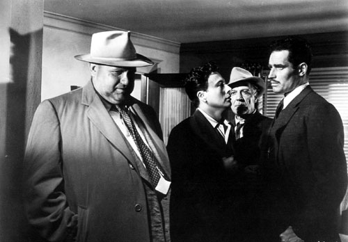 Orson Welles Charlton Heston Touch of Evil