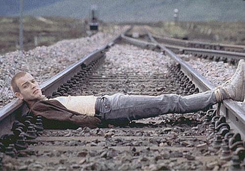 Edwan McGregor in TRAINSPOTTING