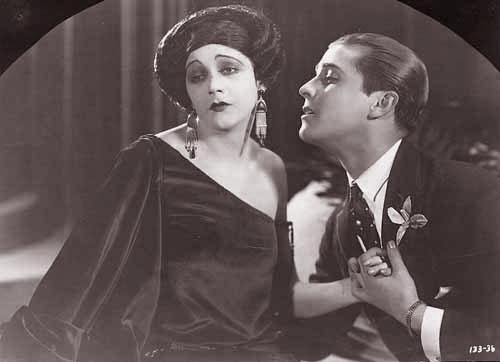 Ramon Novarro, Barbara La Marr in Trifling Women