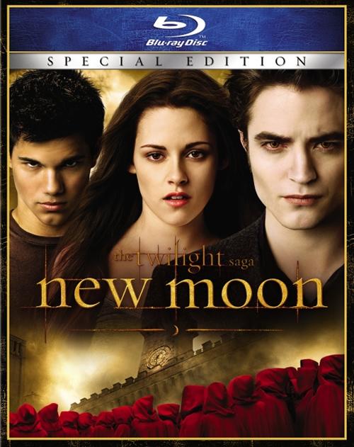 Robert Pattinson Kristen Stewart Taylor Lautner The Twilight Saga: New Moon DVD
