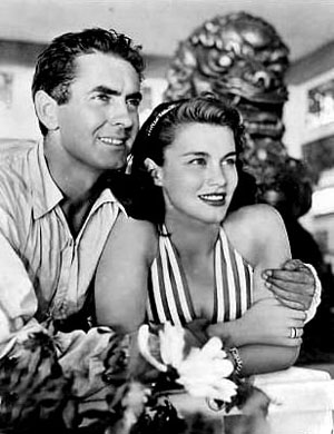Tyrone Power, Linda Christian