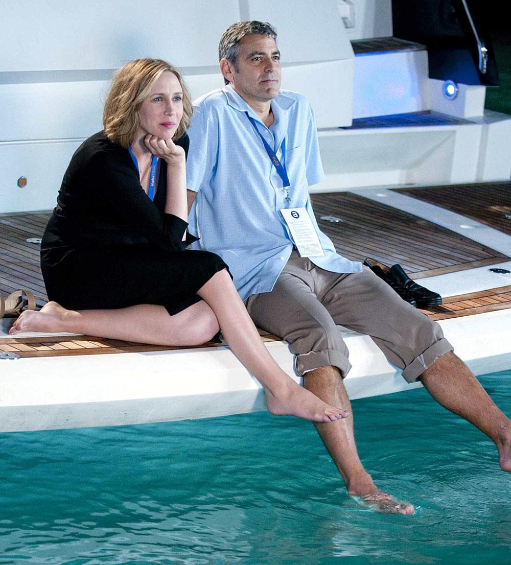 Vera Farmiga, George Clooney in Up in the Air