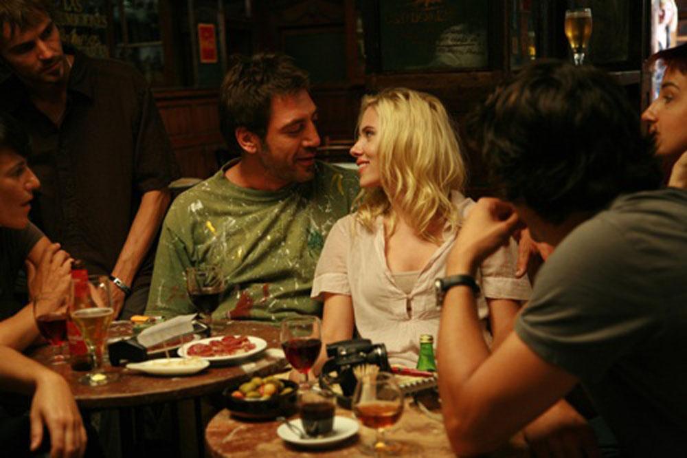Javier Bardem, Scarlett Johansson in Vicky Cristina Barcelona