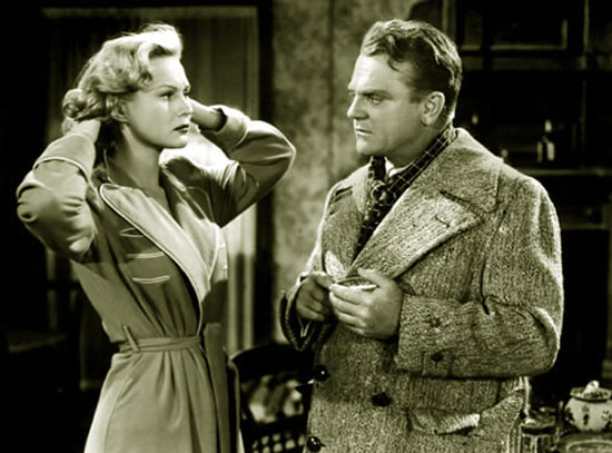 Virginia Mayo, James Cagney in White Heat