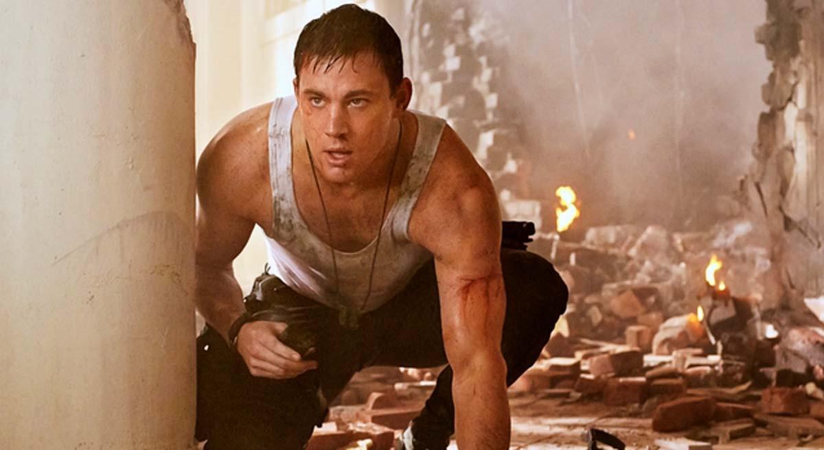White House Down movie Channing Tatum dud