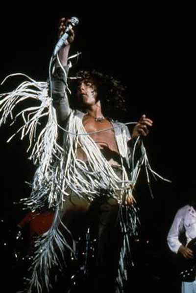 Roger Daltrey at Woodstock