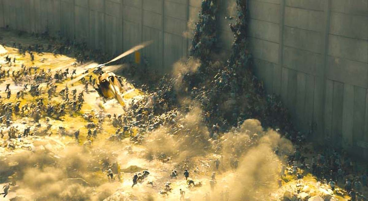 World War Z zombies movie