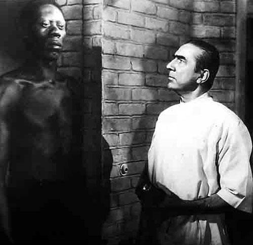Darby Jones, Bela Lugosi in Zombies on Broadway